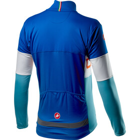 Castelli Prologo Jakke Herrer, rescue blue/white/celeste